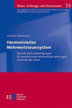 Harmonisiertes Mehrwertsteuersystem von Naumann,  Chantal
