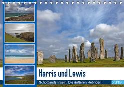 Harris und Lewis – Schottlands Inseln. Die äußeren Hebriden (Tischkalender 2019 DIN A5 quer) von Potratz,  Andrea