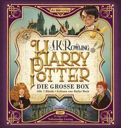 Harry Potter. Die große Box. Alle 7 Bände. von Beck,  Rufus, Fritz,  Klaus, Kübrich,  Angela, Rowling,  J. K.