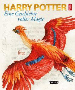 Harry Potter: Eine Geschichte voller Magie von British Library, Dürr,  Karlheinz, Hansen-Schmidt,  Anja, Held,  Ursula, Rowling,  J. K.