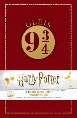Harry Potter: Gleis 9 ¾ Premium-Notizbuch von Wizarding World