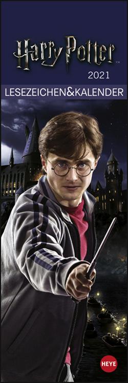 Harry Potter Lesezeichen & Kalender Kalender 2021 von Heye