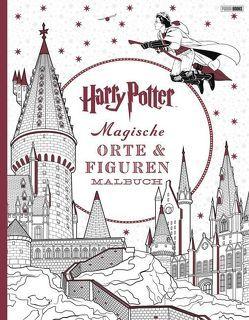 Harry Potter: Magische Orte & Figuren Malbuch von Panini