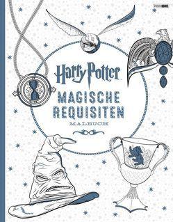 Harry Potter: Magische Requisiten Malbuch von Panini