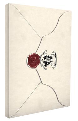 Harry Potter: Notizbuch Aufnahmebrief