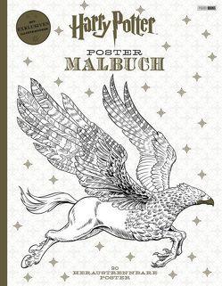 Harry Potter Postermalbuch von Panini