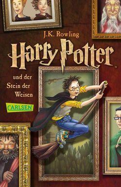 Harry Potter und der Stein der Weisen (Harry Potter 1) von Fritz,  Klaus, Rowling,  J. K.