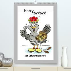 HarryKuckuck – Der Schwarzwald ruft (Premium, hochwertiger DIN A2 Wandkalender 2020, Kunstdruck in Hochglanz) von Laue,  Ingo