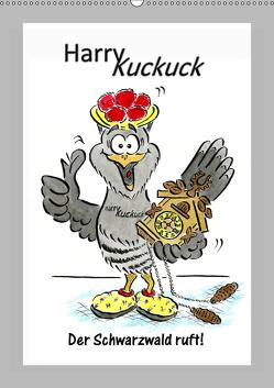 HarryKuckuck – Der Schwarzwald ruft (Wandkalender 2019 DIN A2 hoch) von Laue,  Ingo