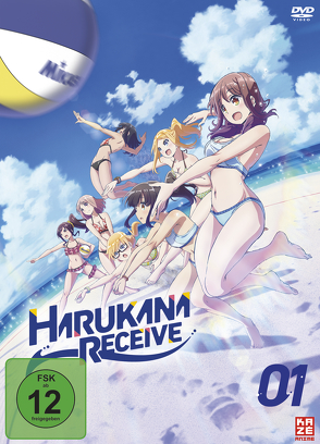 Harukana Receive – DVD 1 von Kubooka,  Toshiyuki