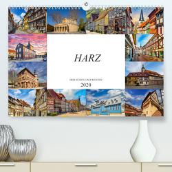 Harz der Süden und Westen (Premium, hochwertiger DIN A2 Wandkalender 2020, Kunstdruck in Hochglanz) von Meutzner,  Dirk