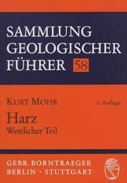 Harz. Westlicher Teil von Mohr,  Kurt