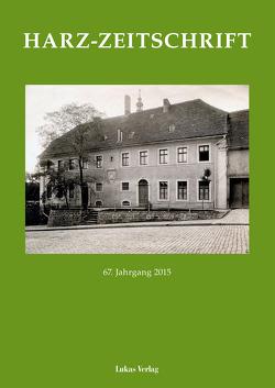 Harz-Zeitschrift von Harzverein für Geschichte und Altertumskunde e.V.