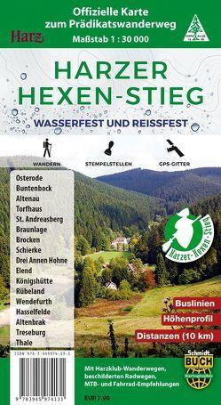 Harzer Hexen-Stieg von Schmidt,  Thorsten, Spachmüller,  Bernhard