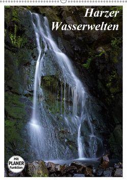 Harzer Wasserwelten (Wandkalender 2019 DIN A2 hoch) von Levi,  Andreas