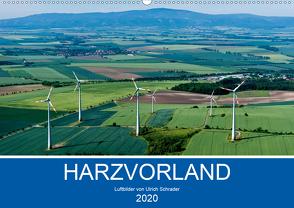 Harzvorland Luftbilder 2020 (Wandkalender 2020 DIN A2 quer) von Schrader,  Ulrich