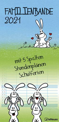 Hasen 2021 Familienplaner – Familien-Timer – Termin-Planer – Kinder-Kalender – Familien-Kalender – 22×45 von Holzach,  Alexander