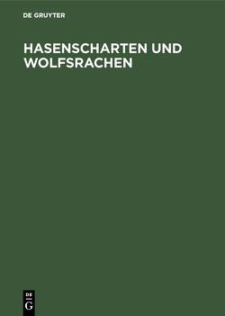 Hasenscharten und Wolfsrachen von Gabka,  Joachim