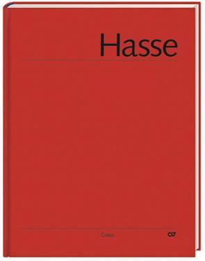 Hasse: Requiem in C und B. Hasse-Werkausgabe von Hasse,  Johann Adolf, Hochstein,  Wolfgang