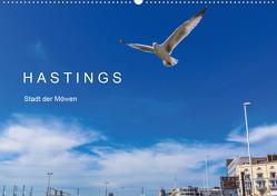 HASTINGS – Stadt der Möwen (Wandkalender 2021 DIN A2 quer) von Lobisch-Delija,  Michael