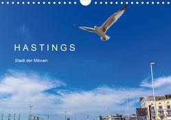 HASTINGS – Stadt der Möwen (Wandkalender 2021 DIN A4 quer) von Lobisch-Delija,  Michael