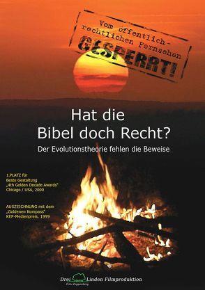 Hat die Bibel doch Recht? von Poppenberg,  Fritz