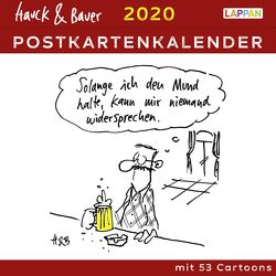 Hauck & Bauer Postkartenkalender 2020 von Hauck & Bauer