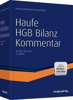 Haufe HGB Bilanz-Kommentar – 9. Auflage plus Onlinezugang von Bertram,  Klaus, Brinkmann,  Ralph, Kessler,  Harald, Müller,  Stefan