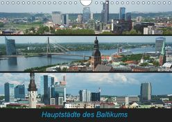 Hauptstädte des Baltikums (Wandkalender 2019 DIN A4 quer) von Scholz,  Frauke