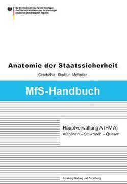 Hauptverwaltung A (HV A) von Müller-Enbergs,  Helmut