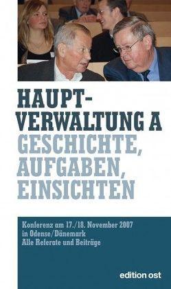Hauptverwaltung A von Eichner,  Klaus, Schramm,  Gotthold