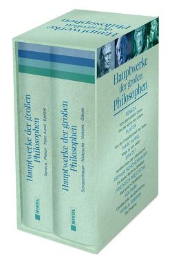 Hauptwerke der großen Philosophen von Aurel,  Marc, Epiktet, Gibran,  Khalil, Nietzsche,  Friedrich, Platon, Schopenhauer,  Arthur, Seneca, Voltaire