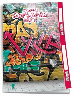 Hausaufgabenheft für Schlaue Graffiti