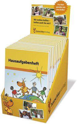 Hausaufgabenheft Theken-Display mit 24 Exemplaren von Hauschka Verlag