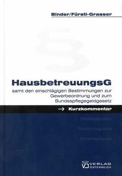 Hausbetreuungsgesetz von Binder,  Hans, Fürstl-Grasser,  Margarethe