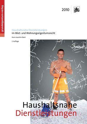 Haushaltsnahe Dienstleistungen von Beck,  Hans-Joachim