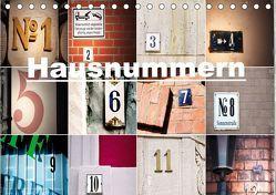 Hausnummern (Tischkalender 2019 DIN A5 quer) von aplowski,  andrea