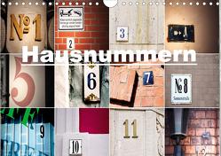 Hausnummern (Wandkalender 2021 DIN A4 quer) von aplowski,  andrea
