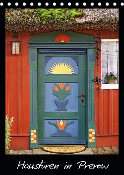 Haustüren in Prerow (Tischkalender 2021 DIN A5 hoch) von Rix,  Veronika