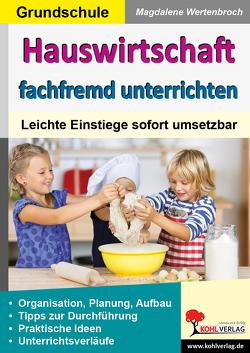 Hauswirtschaft fachfremd unterrichten in der Grundschule von Wertenbroch,  Magdalene
