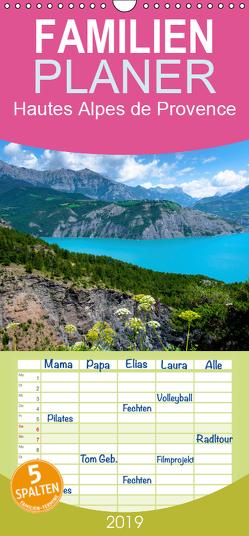 Hautes Alpes de Provence – Familienplaner hoch (Wandkalender 2019 , 21 cm x 45 cm, hoch) von Voigt,  Tanja