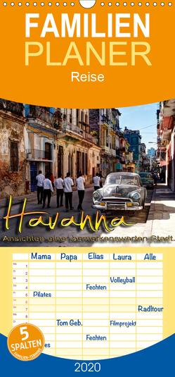 Havanna – Ansichten einer bemerkenswerten Stadt – Familienplaner hoch (Wandkalender 2020 , 21 cm x 45 cm, hoch) von Schneider,  Jens