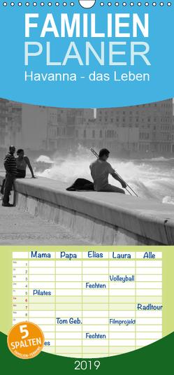 Havanna – das Leben – Familienplaner hoch (Wandkalender 2019 , 21 cm x 45 cm, hoch) von Pagga,  Udo