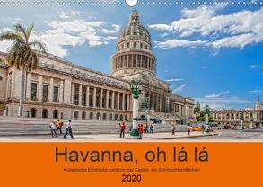Havanna o la la (Wandkalender 2020 DIN A3 quer) von Abel,  Micaela