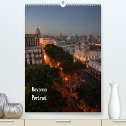 Havanna Portrait (Premium, hochwertiger DIN A2 Wandkalender 2021, Kunstdruck in Hochglanz) von Krajnik,  André