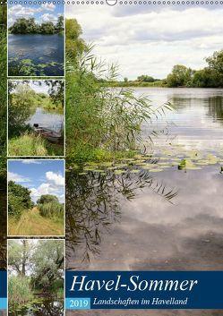 Havel-Sommer – Landschaften im Havelland (Wandkalender 2019 DIN A2 hoch) von Frost,  Anja