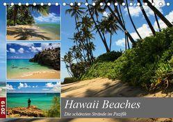 Hawaii Beaches – Die schönsten Strände im Pazifik (Tischkalender 2019 DIN A5 quer) von Krauss - www.lavaflow.de,  Florian