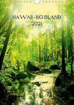 Hawaii – Big Island (Wandkalender 2021 DIN A4 hoch) von Brun,  Annina