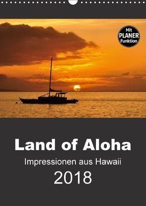 Hawaii – Land of Aloha (Wandkalender 2018 DIN A3 hoch) von Bade,  Uwe