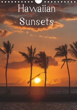 Hawaiian Sunsets (Wandkalender 2019 DIN A4 hoch) von Hitzbleck,  Rolf-Dieter